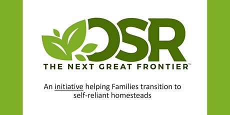 """Operation Self-Reliance - Helping Families Achieve Ultimate Self-Reliance tickets"
