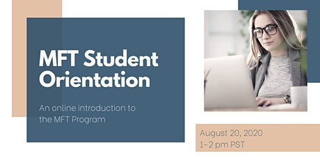 Marriage and Family Therapy Student Orientation tickets