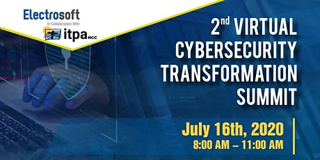 2nd Cybersecurity Transformation Summit 2020 tickets
