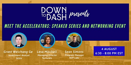 Meet The Accelerators: Speaker Series and Networking Event tickets