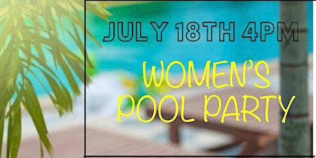 Women's Pool Party tickets
