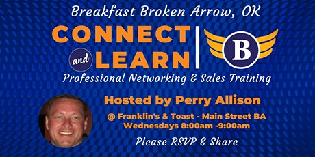 OK | Broken Arrow - Breakfast | Networking and Sales Training tickets