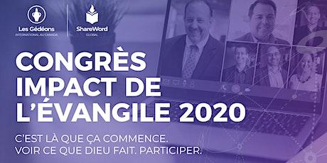 Congrès Impact de l'Évangile 2020 billets