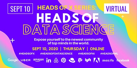Heads Of X Series: Heads of Data Science Conference tickets