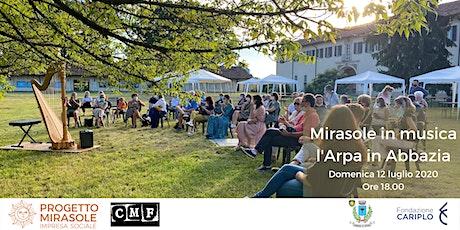 Mirasole in Musica: l'Arpa in Abbazia biglietti