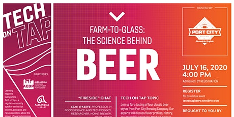 Tech on Tap: Farm-to-Glass: The Science Behind Beer tickets