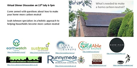 What's Needed to Create a Carbon Neutral Home tickets