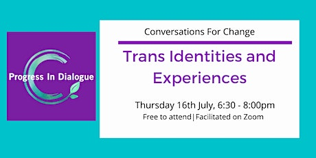 Trans Identities and Experiences tickets