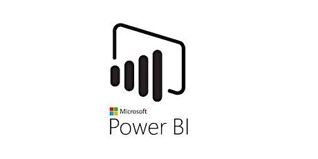 4 Weekends Microsoft Power BI Training Course in Mansfield tickets