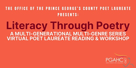 Literacy Through Poetry: July 18th Virtual Event tickets