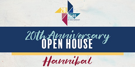 20th Anniversary Open House – Hannibal tickets