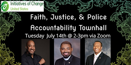 Justice & Police Accountability  Digital Town Hall w/ Delegate Joshua Cole tickets