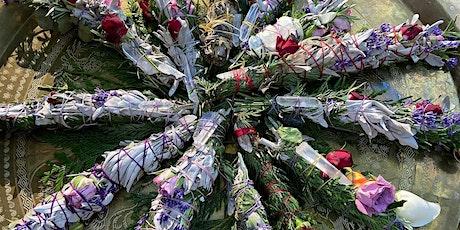 DIY Sage Flower Smudge Wand Workshop in the Park tickets