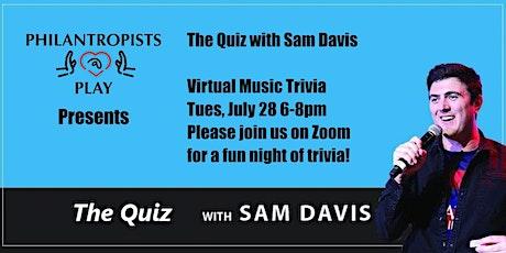 The Quiz with Sam Davis tickets