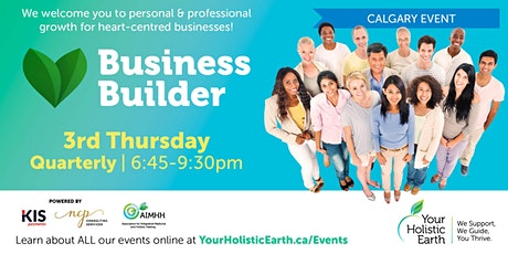 YHE Business Builder - Calgary - Managing Stress & Energy tickets