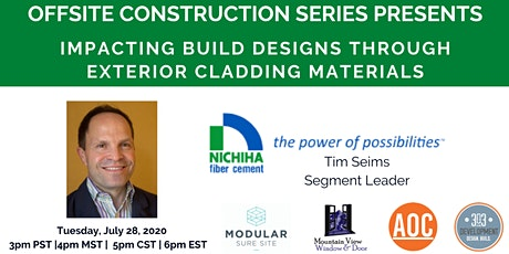 Impacting Build Designs Through Exterior Cladding Materials tickets