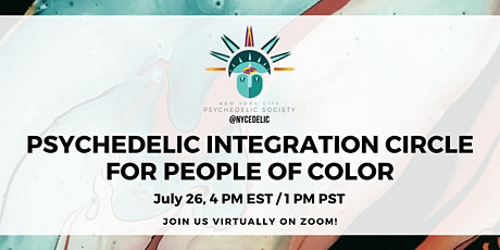 (Virtual) Psychedelic Integration Circle for People of Color! tickets