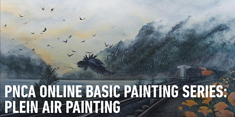 Online Workshops Basic Painting Series:  Plein Air Painting tickets