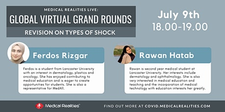 Global Virtual Grand Rounds: Medical Cases - Shock tickets