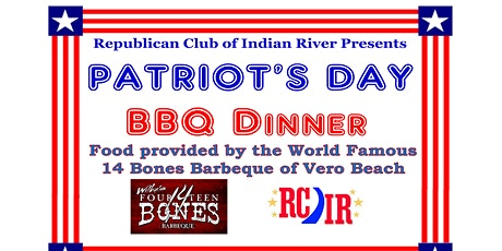 Republican Club of Indian River presents Patriot's Day BBQ Dinner tickets