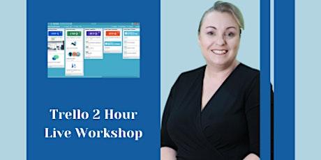 2 hour Live Trello Workshop tickets