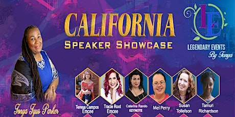 Tonya Tyus Parker's California Speakers Showcase 2020 tickets