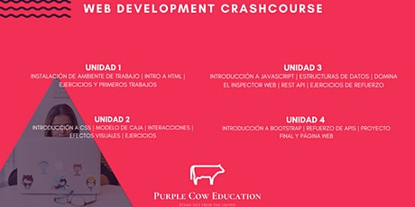 Web Development Crashcourse billets