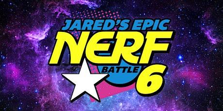 Jared's Epic Nerf Battle 6 tickets