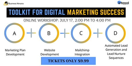Toolkit for Digital Marketing Success tickets