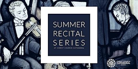Summer Recital Series 1:  MacLeod and Holliston - 7:30pm SHOW tickets