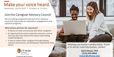 Caring for the Caregiver Advisory Council Informational Meeting tickets