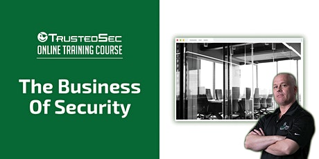 The Business of Security - Online Training tickets