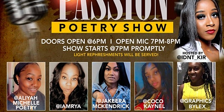 Poets With Passion Poetry Show tickets