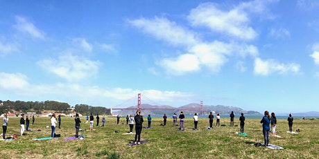 Sunday Power Yoga @ Crissy Field with Nat Kendall tickets