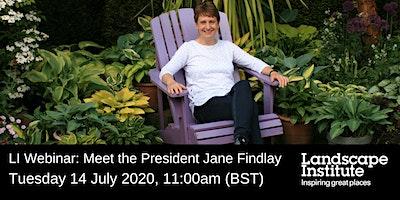 LI Webinar: Meet the President Jane Findlay