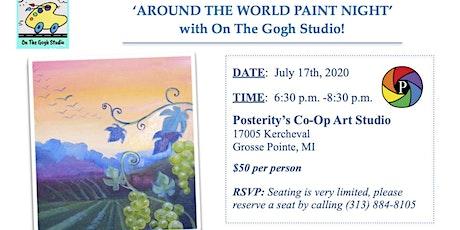 Around The World Paint Night tickets