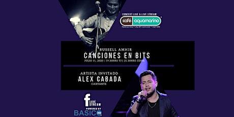 Concert Live & Live Stream -Canciones en BiTs con Russell Amhir tickets