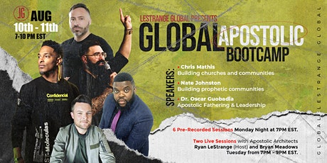 Global Apostolic Bootcamp tickets