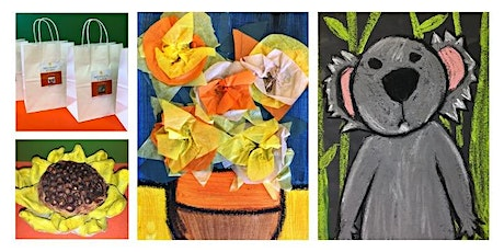 Art Kits: Van Gogh's Vase on Canvas, Clay Sunflower, & How to Draw a Koala tickets