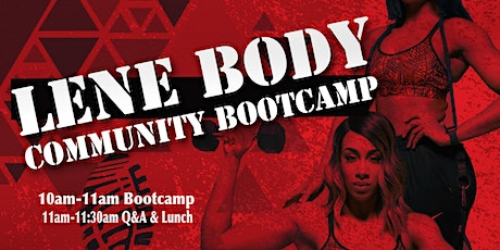 Lene Body Community Boot Camp tickets