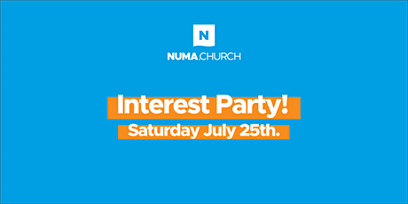 Numa.Church Interest Party tickets