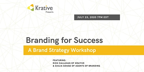Branding for Success – A brand strategy workshop tickets