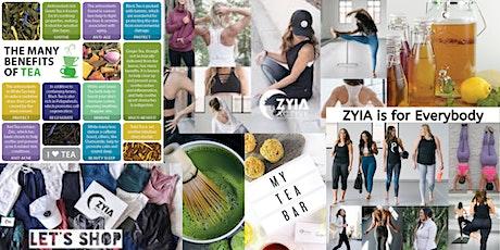 Carla's Steeped Teas & Lisa's Zyia Active Wear tickets
