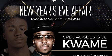 All Black with Silver and Gold New Years Eve Affai tickets