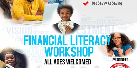 VIRTUAL FINANCIAL LITERACY WORKSHOP - ALL AGES WELCOMED tickets