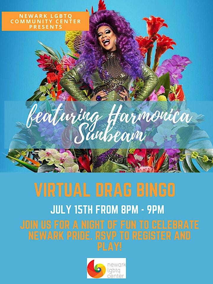 Newark LGBTQ Community Center Virtual Drag Bingo & Pride Celebration image