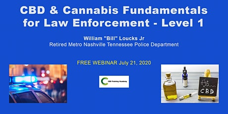 CBD & Cannabis Fundamentals for Law Enforcement - Level 1 tickets