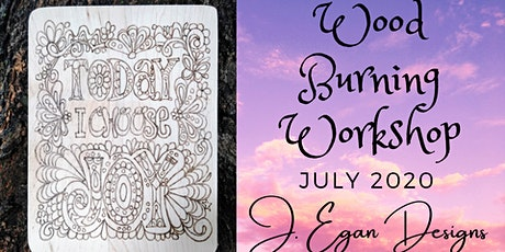 Wood Burning Workshop - Choose Joy tickets