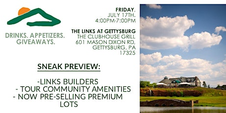 The Links At Gettysburg Open House Community Launch tickets