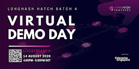 Virtual Demo Day ( LongHash Hatch Batch 4) tickets